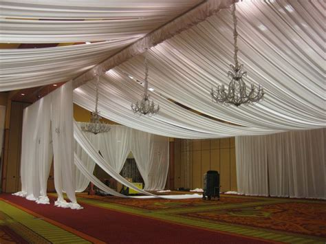 Draping Cloth On Ceiling - 306 best images about wedding ceilings on
