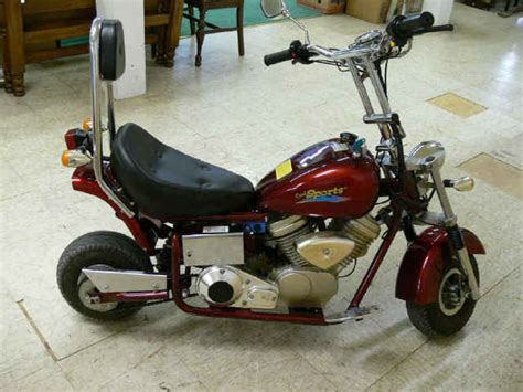 Cool Sports Harley Davidson Look Mini Motorcycle