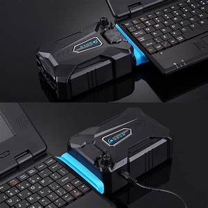 Ice Troll Iii Gaming Laptop Notebook Cooling Pad Mute Air