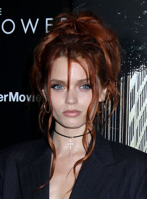 Abbey Lee Kershaw At The Dark Fower Premiere In New York