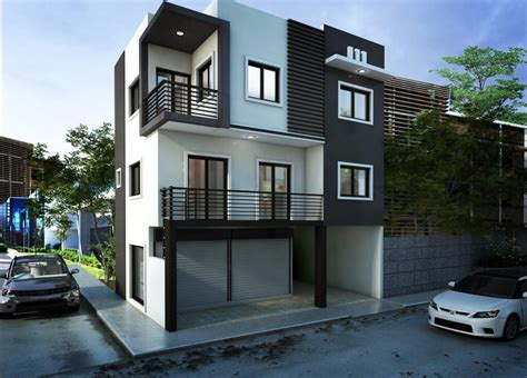 mesmerizing  storey house designs  rooftop  enhanced