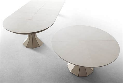 Round Expandable Dining Table
