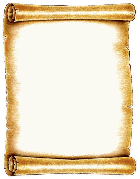 Scroll Paper Template Word - Costumepartyrun