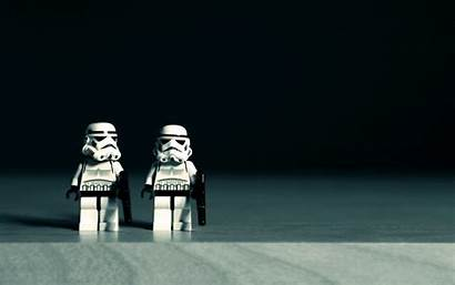 Lego Wars Star Wallpapers Toys Stormtroopers Macro