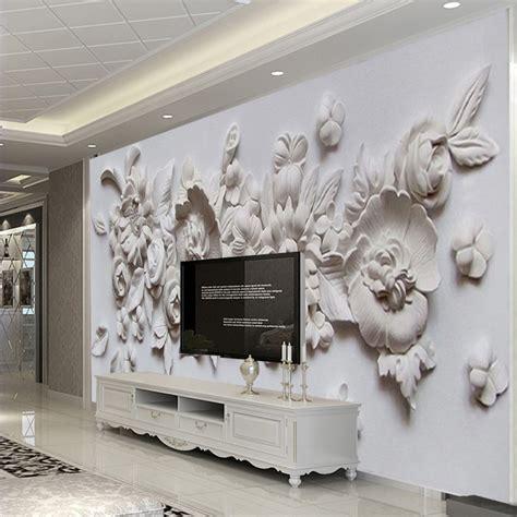 custom photo wallpaper european style  stereoscopic