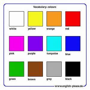 Farben Auf Englisch : vocabulary colours madita piontek ~ Orissabook.com Haus und Dekorationen
