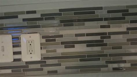 Backsplash Glass Tile Edging by Mosaic Tile Backsplash Edge Amazing Tile