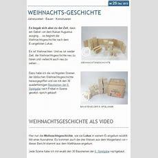 Weihnachtsgeschichte  Froebelblog Blog