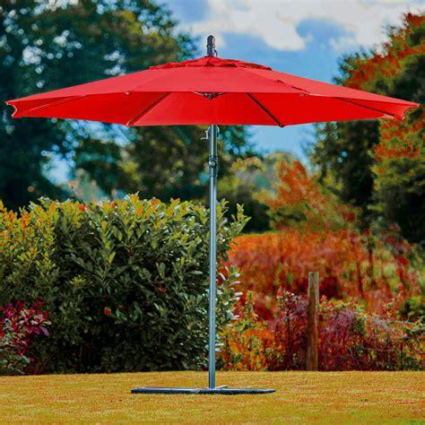 supremo free supremo riviera free arm parasol 3m ruby