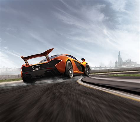 wallpaper mclaren p racing forza motorsport