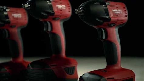 hilti akkuschrauber 18v introducing hilti 18v cordless impact drivers and impact wrenches
