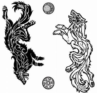 Norse Wolf Fenrir Mythology Tattoo Loki Tattoos