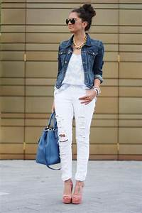 Hot Fashion Trend 17 Stylish Outfit Ideas with Ripped Jeans - Style Motivation