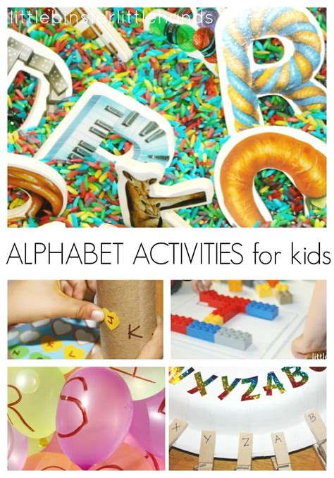 back to school alphabet activities for 780 | Alphabet Activities for Kids Back To School Letter Recognition Ideas Preschool Learning