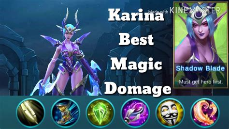 Karina Best Magic Damage!