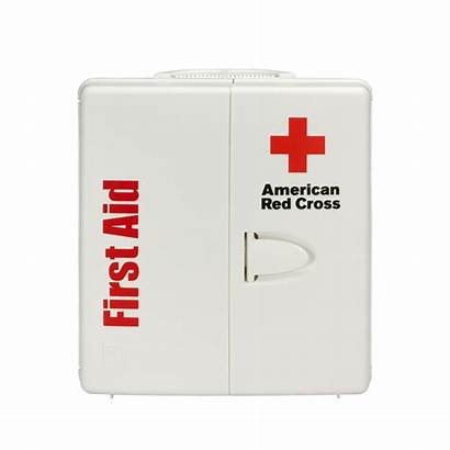 Aid Kit Cabinet Plastic Medical Workplace Cross