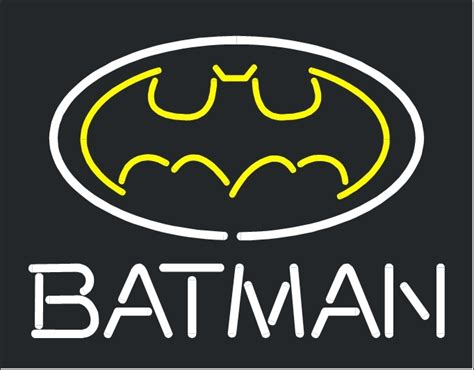 "Batman Action Hero Comic Store Neon Light Sign 16"" X 14"