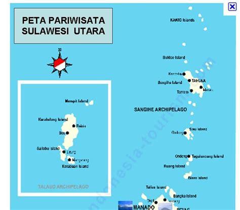 peta digital peta pariwisata provinsi sulawesi utara