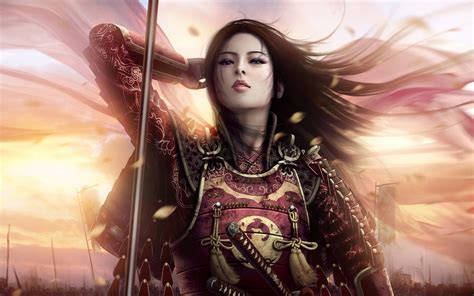 Warrior Armor Beautiful Fantasy Girl  New Hd Wallpapernew