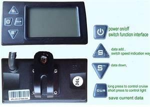 2020 24v36v48v250w350w Controller  U0026 Lcd Display 861 Manual