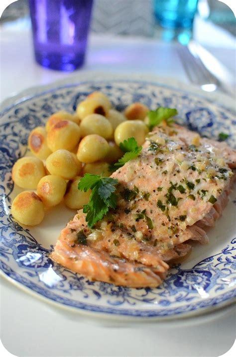 cuisiner saumon entier saumon au four recette rapide et facile recettes