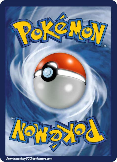 pokemon card  side pokemon trading card pokemon