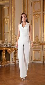 Combinaison Femme Pour Mariage : 10 jolies mani res de porter le pantalon le jour de son ~ Mglfilm.com Idées de Décoration