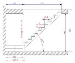 Giron D Un Escalier Définition by Aide Dimensions Escalier 1 4 Tourant Palier