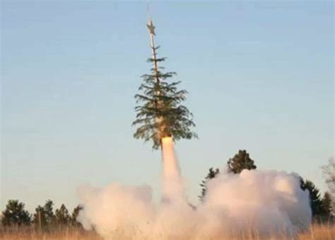 give your christmas tree the old heave ho to outer space