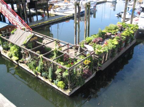 Floating Boat Garden Design by Floating Gardens