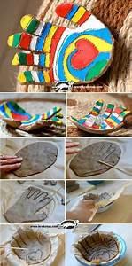 Bandes De Platre Bricolage : la main en empreinte les cahiers de jos phine f te des m res f te des p res cadeau fete ~ Dallasstarsshop.com Idées de Décoration