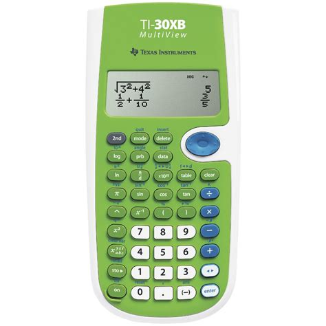 Texas Instruments Scientific Calculator TI-30XB Multiview ...