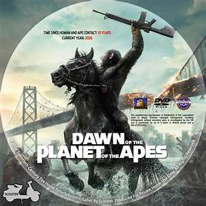 Dawn Of The Planet Of The Apes - Custom DVD Labels - Dawn ...