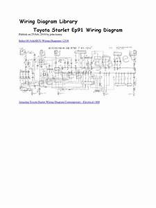 Toyota Starlet Ep91 Wiring Diagram Docx