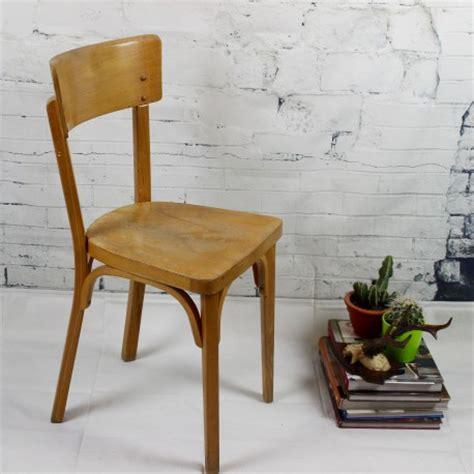 chaises bistrot occasion chaise bistrot ancienne baumann thonet en bois clair