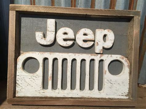 jeep grill art rustic pallet jeep decor jeep sign wood sign jeep