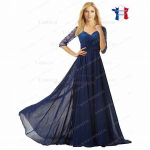 Robe femme bleu roi all pictures top for Robe bleu ceremonie