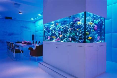 chambre aquarium la décoration avec un meuble aquarium