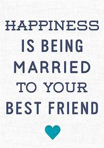 Heart of the Home Married to Your Best Friend Print ...