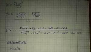 Moleküle Berechnen : maximum extremstellen einer wurzelfunktion berechnen mathelounge ~ Themetempest.com Abrechnung
