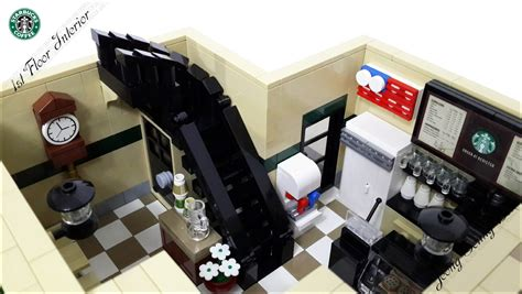 I'll leave it to you to build your own base. LEGO IDEAS - Product Ideas - LEGO Starbucks Cafe Modular