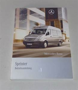 Operating Instructions  Owner U0026 39 S Manual Mercedes Sprinter By
