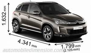 C5 Aircross Dimensions : dimensions of citro n cars showing length width and height ~ Medecine-chirurgie-esthetiques.com Avis de Voitures
