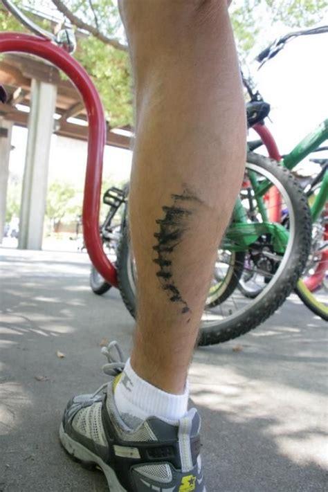 bike chain tattoo bike cycling tattoo chain chainmark