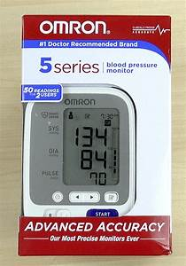 Blood Pressure Monitoring At Home With The Omron 5 Series