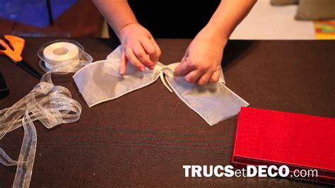 noeud de la chaise comment faire un noeud en ruban ou tissu tutoriel par trucsetdeco