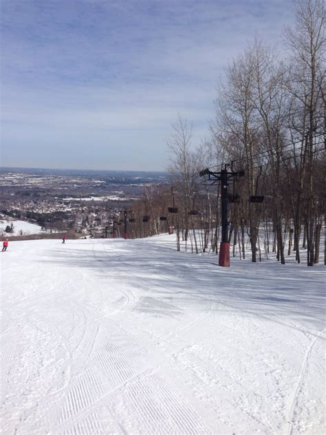 granite peak ski area at rib mountain state park ski