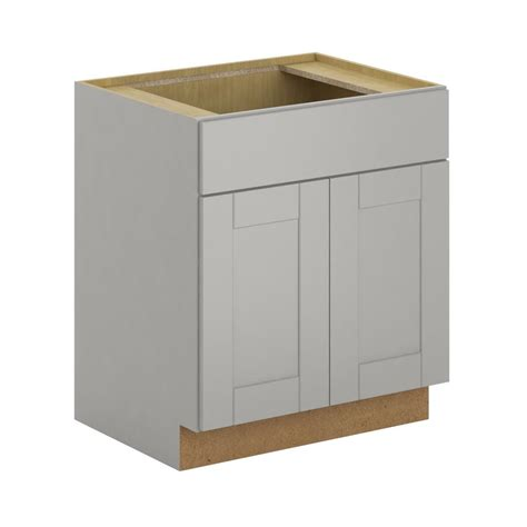 Sink Base Cabinet by Hton Bay Princeton Shaker Assembled 30x34 5x24 In Sink