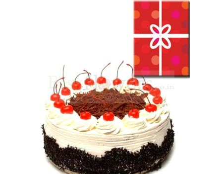 black forest cake card delivery  easy flowers