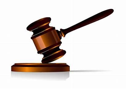Gavel Judge Hammer Transparent Court Justice Clipart